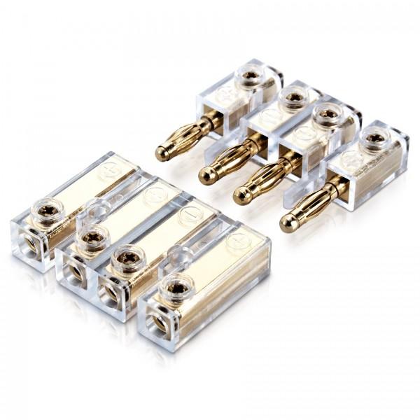 Sinuslive BC-4 Lautsprecher Banana-Schnellverbinder