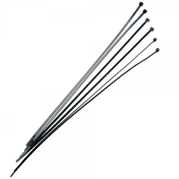 5x 100 Stück Sinuslive Kabelbinder 4,8mm - 450mm lang - 100 Stück im Beutel