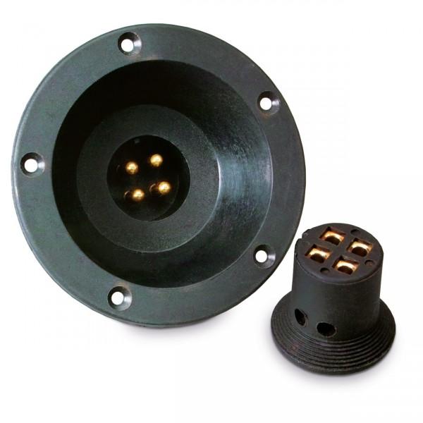 Sinuslive BTV Boxeneinbauterminal Verpolungssicherer Lautsprecherstecker