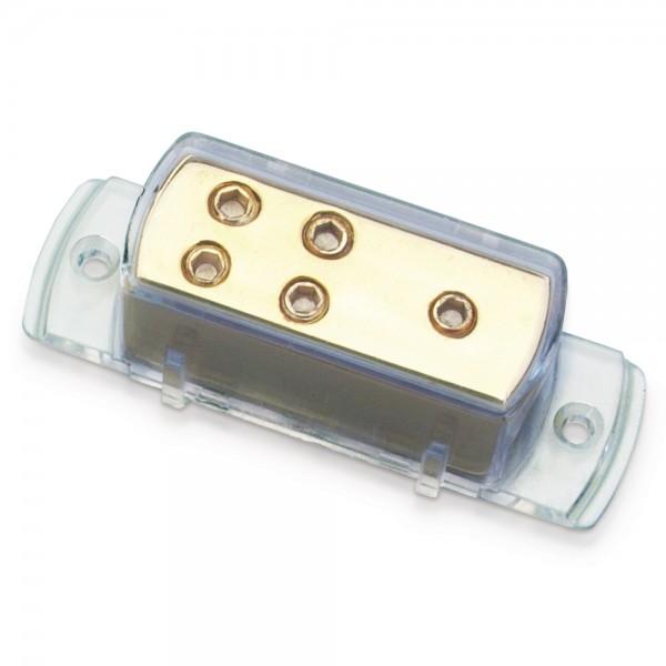 Sinuslive VB1-4 Stromverteiler 1x Eingang bis 25mm² auf 4x Ausgang bis 10mm²