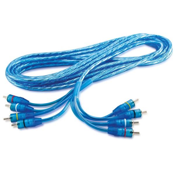 Sinustec RCA-Kabel 4-Kanal 0,8-6,5m