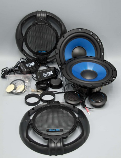 B-Ware Sinustec ST-165 2-Wege Lautsprecher System 16cm