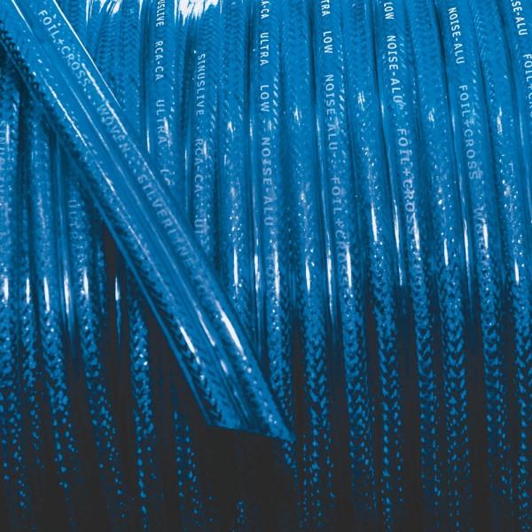"""Sinuslive CA-Cinchkabel """"blau"""" Meterware"""
