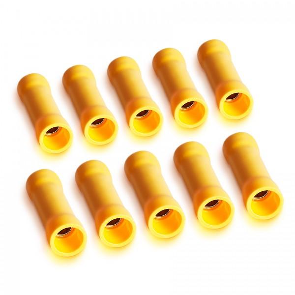 10 Beutel á 10 Stück Sinuslive KV-6,0 Kabelquetschverbinder für Kabel 4-6mm²